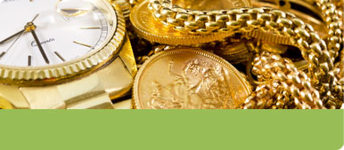 gold watches and coins